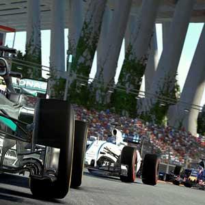Ruta desafiante en Formula One