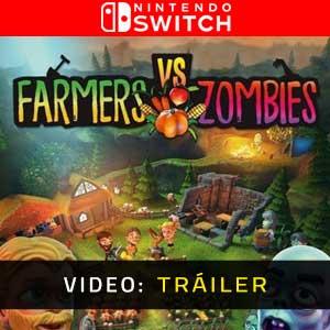 Farmers vs Zombies Nintendo Switch Video Dela Campaña