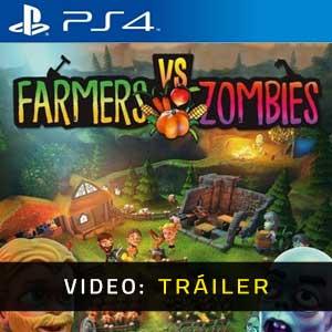 Farmers vs Zombies PS4 Video Dela Campaña