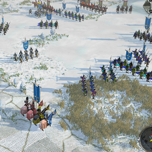 Field of Glory 2 Medieval Campos nevados