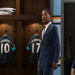 Jugadores de FIFA vestuario
