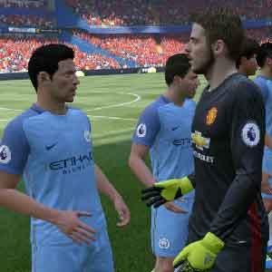 A la vida verdadera acción en FIFA 17