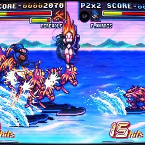 Fight N Rage - Combo de habilidades