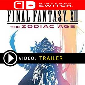 Comprar FINAL FANTASY 12 THE ZODIAC AGE Nintendo Switch Barato comparar precios