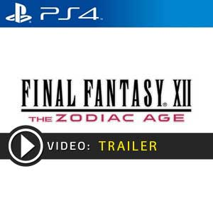 Final Fantasy 12 The Zodiac Age PS4 Precios Digitales o Edición Física