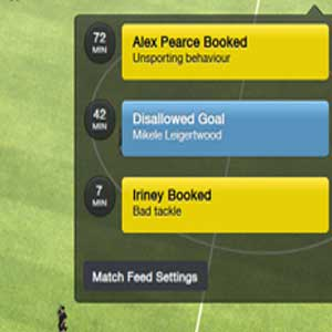 Football Manager 2016 Match Feed Settings