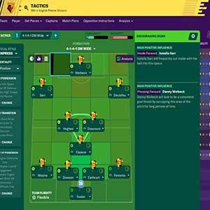 Football Manager 2020 Tácticas