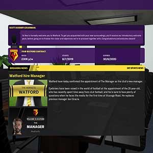 Football Manager 2020 Contratando