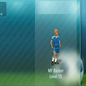 Entrenar el futbolistas tácticas