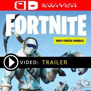 Fortnite Deep Freeze Bundle Nintendo Switch Precios Digitales o Edición Física