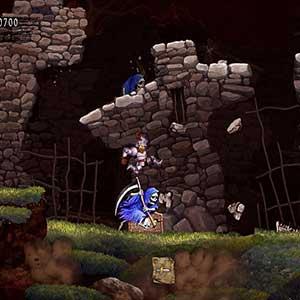 Ghosts n Goblins Resurrection El Asesino Del Esqueleto