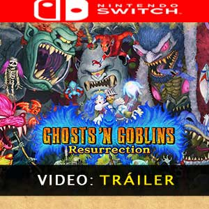 Ghosts n Goblins Resurrection Nintendo Switch Vídeo Del Tráiler