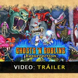 Ghosts n Goblins Resurrection Vídeo Del Tráiler
