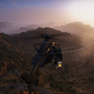 Tom Clancys Ghost Recon Wildlands - Chopper infiltration