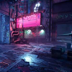 Ghostrunner Cyberpunk World