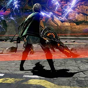 destroying the monstrous Aragami