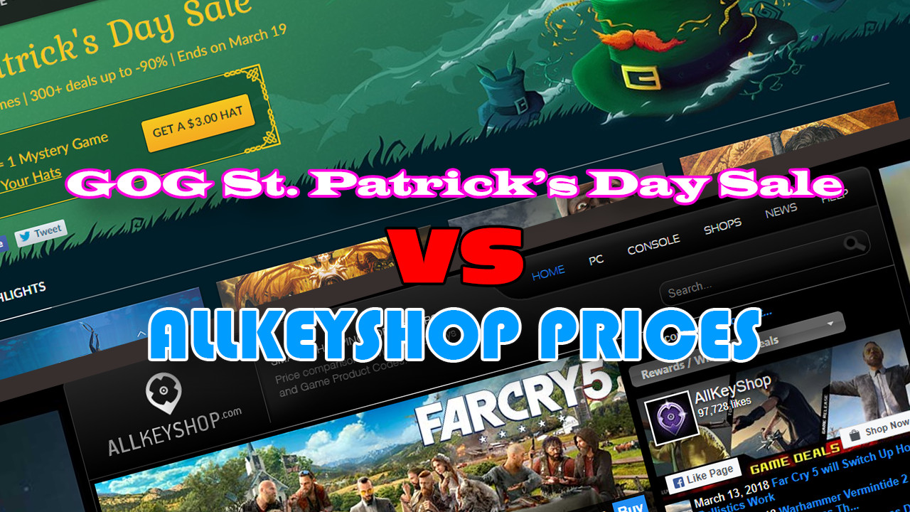 GOG St. Patrick's Day Sale