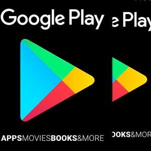 Denominaciones de Tarjeta Regalo Google Play