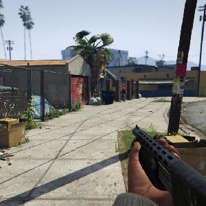 GTA 5 Urban environment