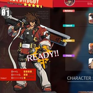 Guilty Gear Strive Selección de personajes