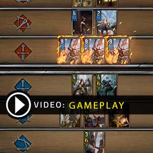 GWENT The Witcher Card Game Gameplay Video
