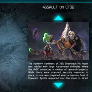 Halo Spartan Assault Map Menu