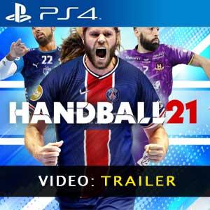 Handball 21 PS4 Video dela campaña
