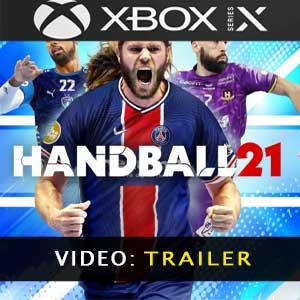 Handball 21 XBox Series Video dela campaña