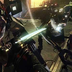 Hard Reset Arma Cyber-Katana