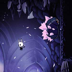 Nivel del Hollow Knight