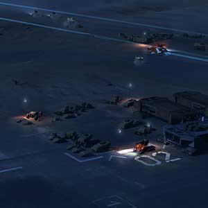 Homeworld Deserts Flota de posicionamiento
