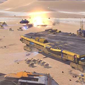 Morir desierto del planeta Kharak
