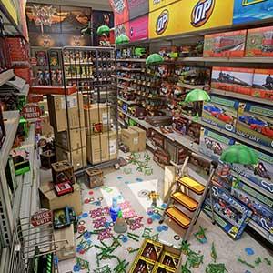 HYPERCHARGE Unboxed - Tienda de juguetes
