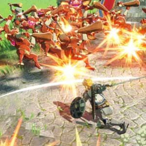 Hyrule Warriors Age of Calamity Ataque