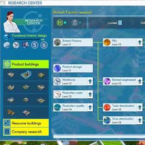 Investigación Industria Fábrica de biotecnología