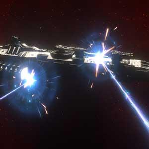 Into the Void buques de la galaxia