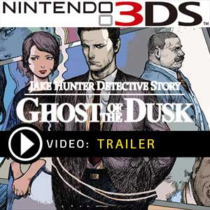 Jake Hunter Detective Story Ghost of The Dusk Nintendo 3DS Precios Digitales o Edición Física