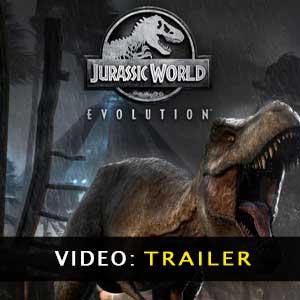 Jurassic World Evolution Vídeo del Tráiler