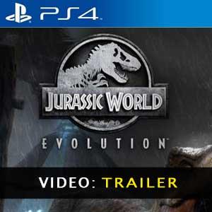 Jurassic World Evolution PS4 Vídeo del Tráiler