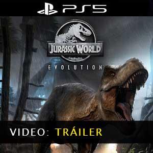 Jurassic World Evolution PS5 Vídeo del tráiler