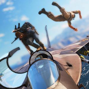 Just Cause 3 PS4 Avion Paseo