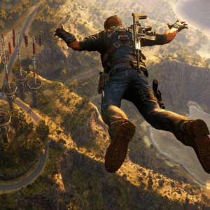 Just Cause 3 Caida libre
