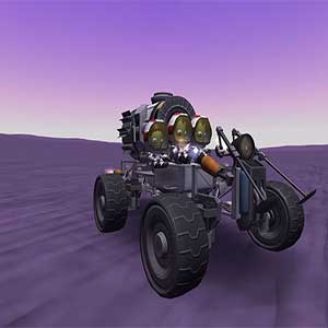 Kerbal in outer space