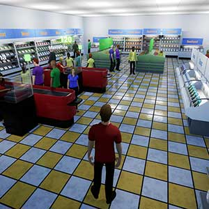 King of Retail -Tienda de comestibles