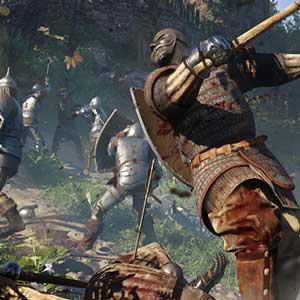 Medieval sword-fighting