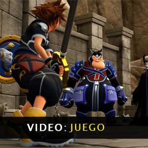 Kingdom Hearts 3 vídeo de juego