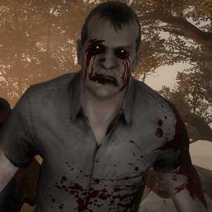 Un grupo de zombis en Left 4 Dead 2
