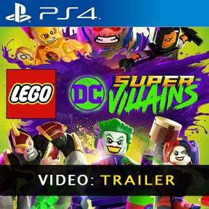 Video Trailer de LEGO DC Super-Villains PS4