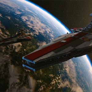 LEGO Star Wars The Skywalker Saga - Crucero de ataque de la República