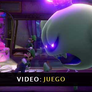 Luigis Mansion 3 Nintendo Switch vídeo de juego